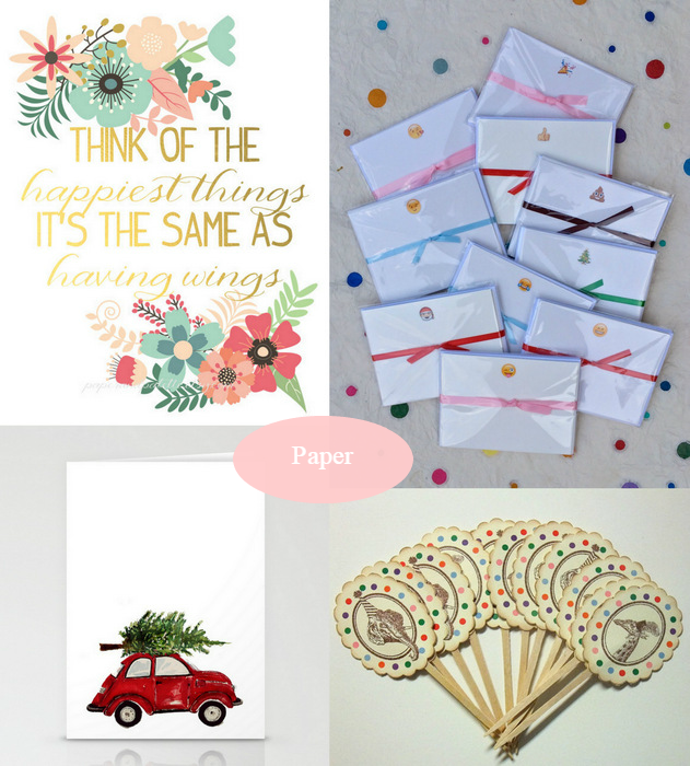Handmade Market Paper