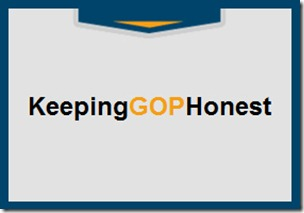 KEEPING GOP HONEST