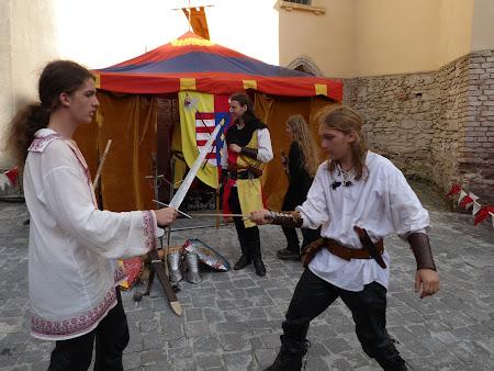Medieval festival of Sighisoara