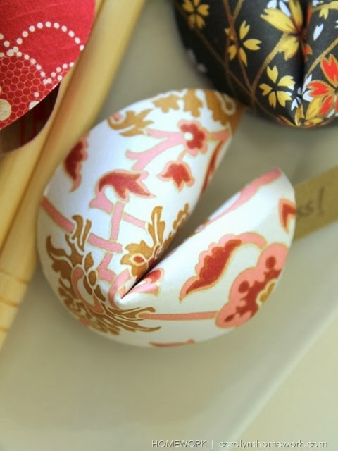 Chinese New Year Paper Fortune Cookies via homework |  carolynshomework (7)
