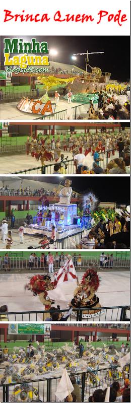 Desfile Brinca Quem Pode Carnaval 2012 Laguna
