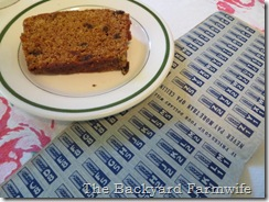 Ration Book Spice Cake - The Backyard Farmwife