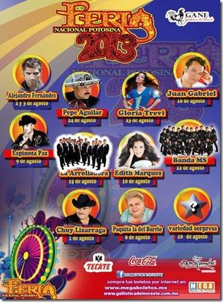 Cartelera y boletos palenque fenapo 2014 fenapo.mx megaboletos en linea
