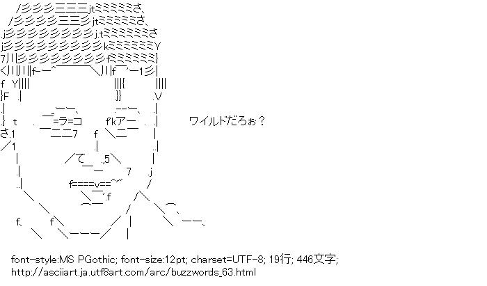 流行語,2012年版,スギちゃん,ワイルドだろぉ?