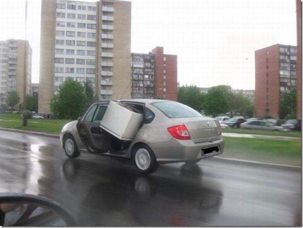 Como não transportar uma geladeira