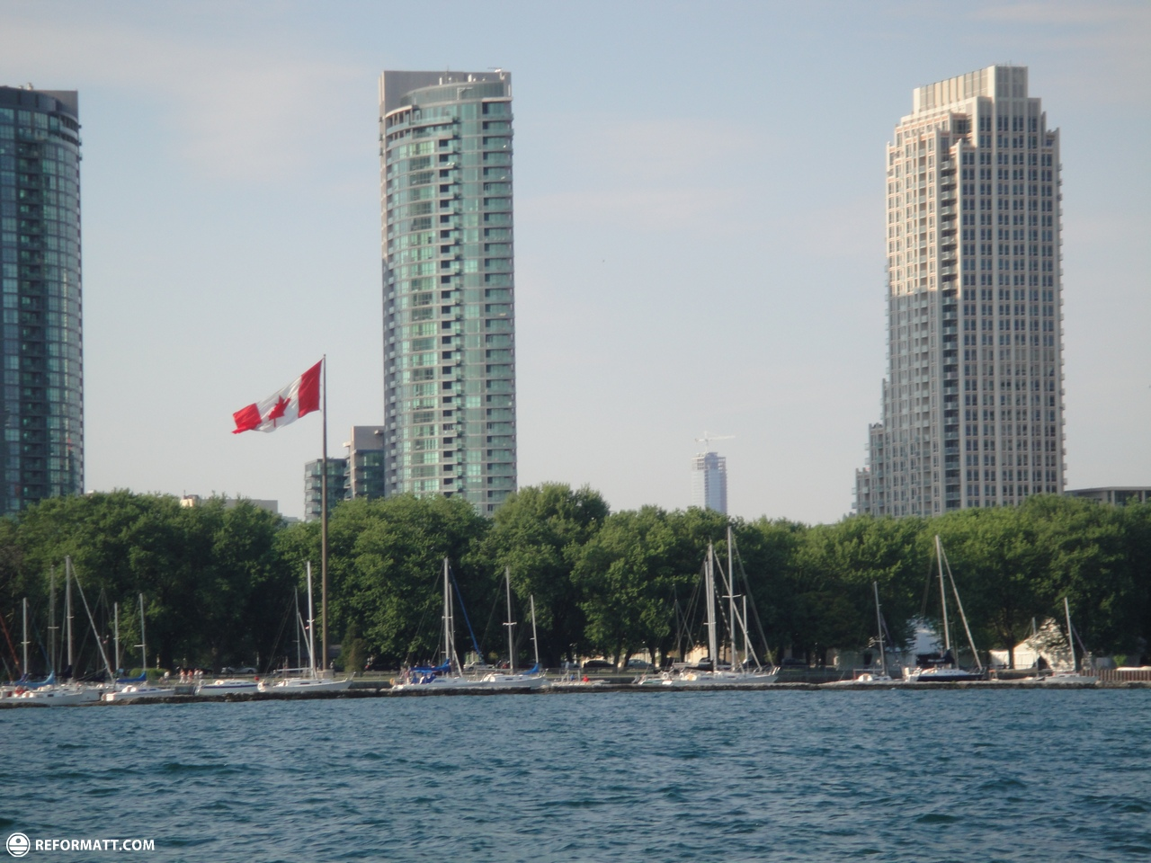 Where Is Ferry To Toronto Islands Is There Parking
