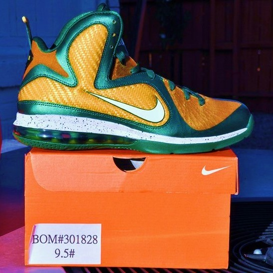 Nike LeBron 9 SVSM PEs 8211 Home amp Away 8211 Available on eBay