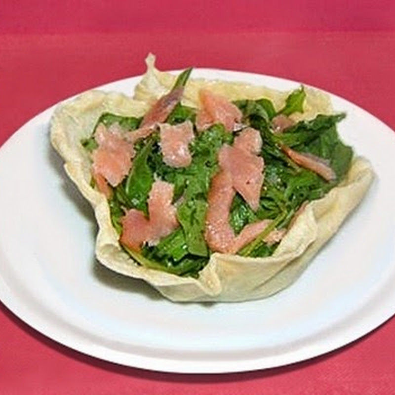 Καλαθάκι παρμεζάνας για τη σαλάτα σας