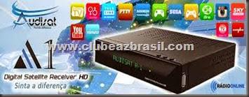 AUDISAT A1 HD IPTV ON DEMAND NOVA ATUALIZAÇÃO - V.183