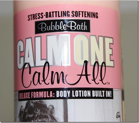 Calm One Calm All label 2