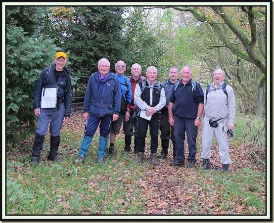 Plodders: Martin, Reg, John, Jim, Norman, Bernard, Don and Allan
