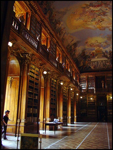 Monastère de Strahov - Bibliothèque théologique, Prague, République tchèque -2