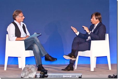Paolo Bonolis intervista Alberto Goffi