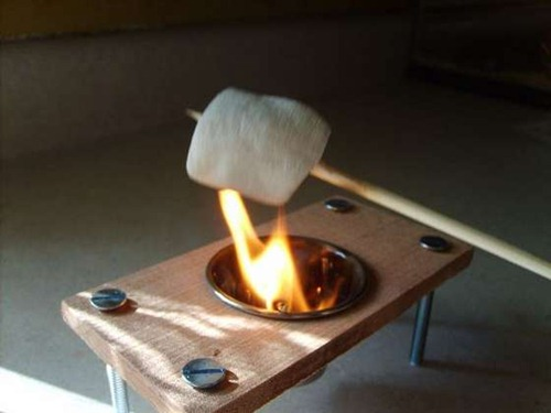 How to Make a Mini S'mores Grill