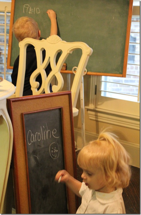 chalkboards and kids