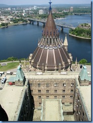 6149 Ottawa - Parliament Buildings Centre Block - Peace Tower and Memorial Chamber tour - Peace Tower observation deck