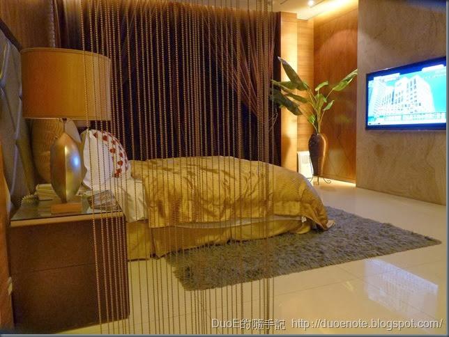 湖山汽車旅館湖光山景508房-臥室