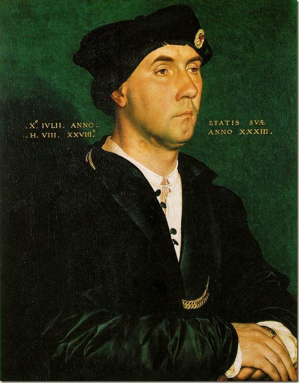Hans Holbein, Portrait de Richard Southwell