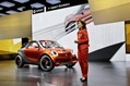  Smart Forstars [get it?] at the Paris Motor Show, Comes with its Own Movie Projector