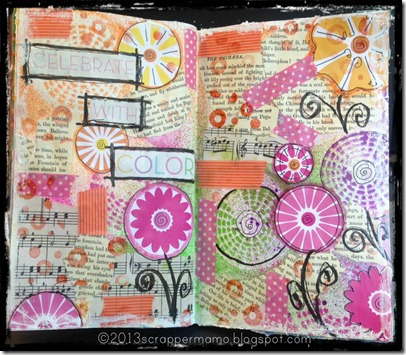 celebrate with color art journal wm