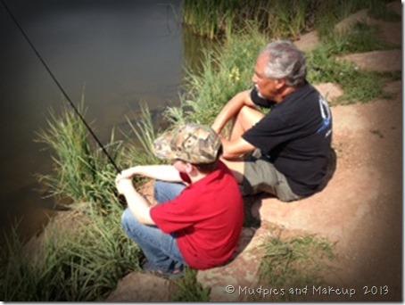 Isaac Fishing