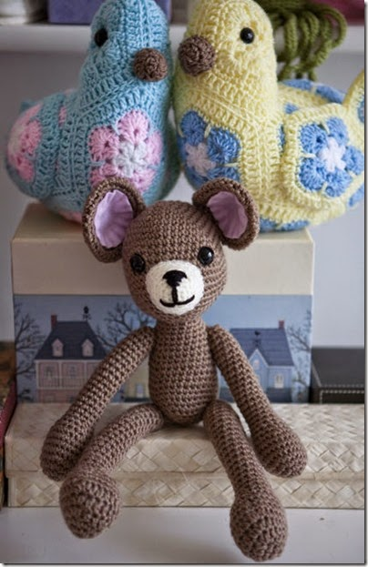 Crocheted Teddy3