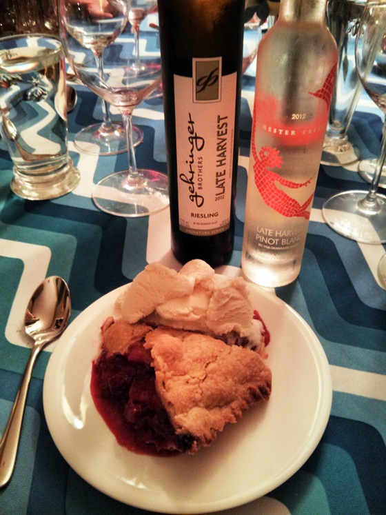 Fruit Pie and Late Harvest Refreshments