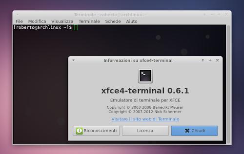 Xfce 4.12 - Xfce4 Terminal
