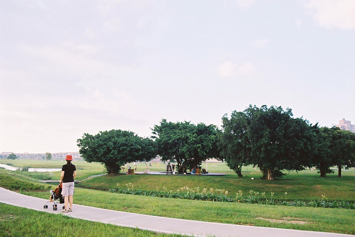 漫步水樣公園