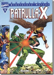 P00005 - Biblioteca Marvel - Patrulla-X #5
