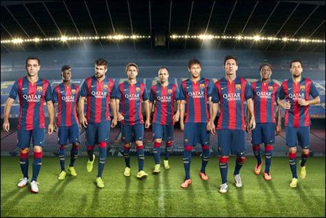 Nueva Camiseta del Barça para la Temporada 2014-2015