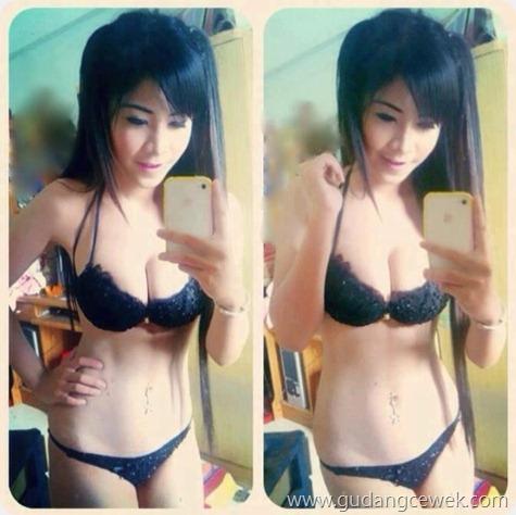 Kumpulan Cewek Sexy Narsis Depan Cermin || marimaju.net