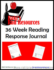 Reading Response Journal to Improve your Independent Reading Center