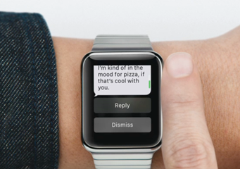 AppleWatch - Scrolling with Digital Crown