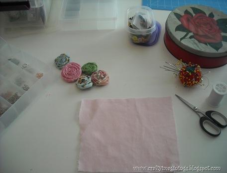 fabric rosettes 2