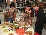 Chinese New Year at Christine and John's