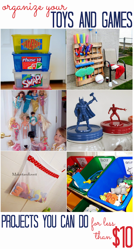 Toy Organization Projects (for less than $10!)