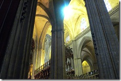 siviglia cattedrale interno