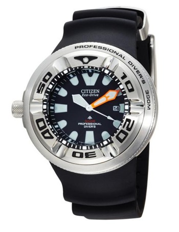 Citizen BJ8050-08E Eco-Drive Professional Diver 300M men's watch.