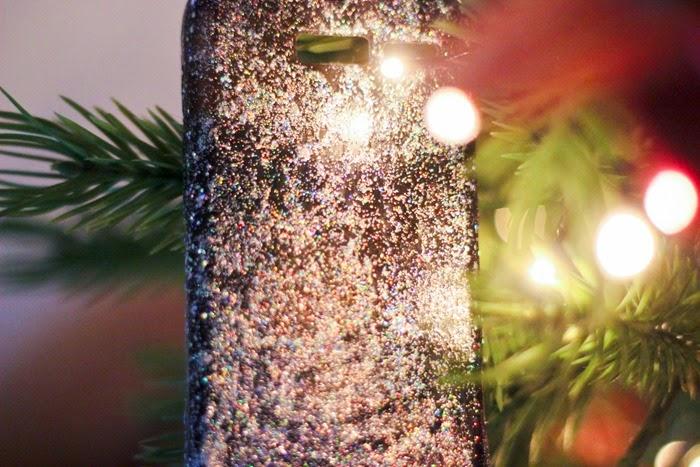 Capinha de Celular com Glitter - DIY (3)