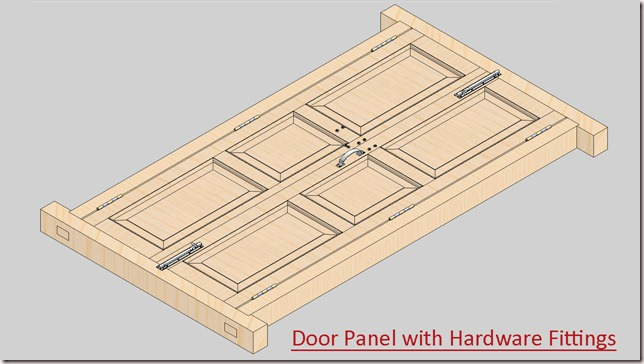 Door Panel with Hardware Fittings_1