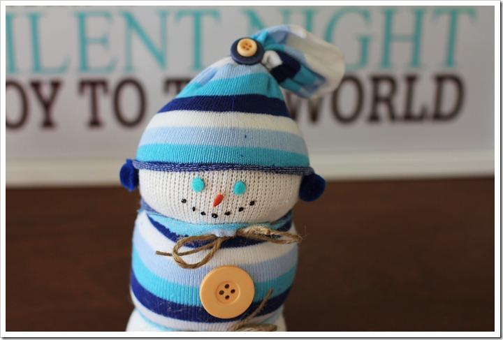 snowman socks1