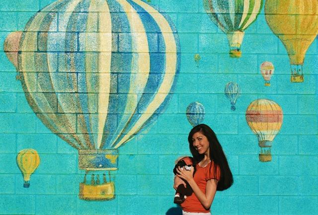 hot air ballon baby