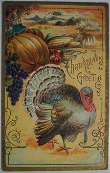 Vintage Thanksgiving Day Postcard by riptheskull, on Flickr [used under Creative Commons license]