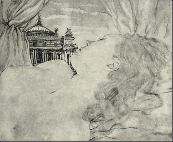 Dream of the Opera - plate XXIV from La rivière enchantée, 1951