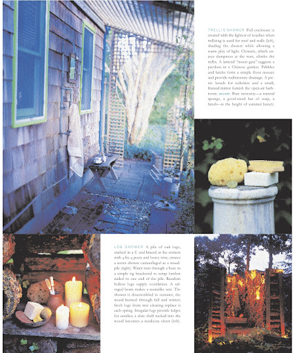 My favorite image is from the trellis shower shown above.