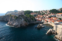 Looking back over Dubrovnik from the city walls