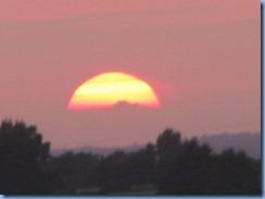 4757Minnesota - Burnsville, MN - Best Western Premier Nicollet Inn - sunset from our room