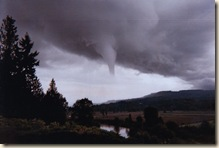 High Rock Funnel cloud