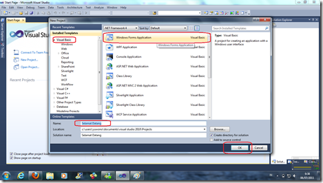 Visual Studio 2010 tutorial.2